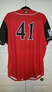 low priced 3a34b 54e81 Details about Arizona Diamondbacks ketel marte signed game used generals  jersey