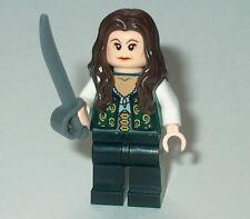 PIRATES OF THE CARIBBEAN #08 Lego Angelica w/sword Custom NEW Genuine Legos