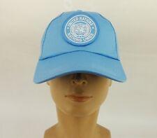 United Nations Peacekeeping Force Baseball Hat UN Snapback Golf Cap Visor  Hat 50643c7c47f