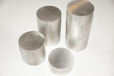 Aluminium Rund Ø34x340mmAlMg1SiPb Drehen Stange Alu Rundmaterial 30mm 35mm 40mm