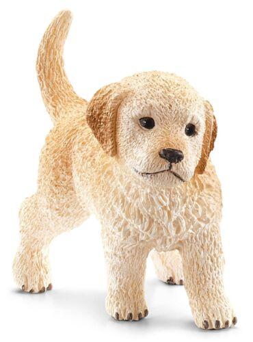 For Ages 3+ Schleich 16396 Golden Retriever Puppy Toy Figure