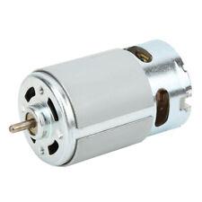 Rs 550 Motor 12 20 Volt Dc 22k Rpm Torque Drill Robot Electric Round Shaft Us