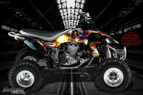 "YAMAHA YFZ450 /& YFZ450X//R GRAPHICS WRAP /""PYRO/"" FOR OEM PARTS DECALS STICKER SET"
