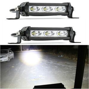 2Pcs-30W-LED-Work-Light-Spot-For-Offroad-Tractor-Car-Driving-Headlight-ATV-UTE