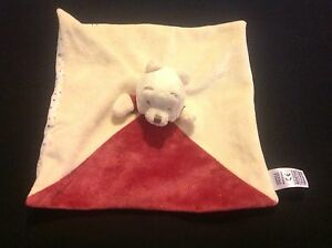 MARKS-AND-SPENCERS-Winnie-the-Pooh-Doudou-Baby-Blankie-Comforter-Soft-Toy-NEW