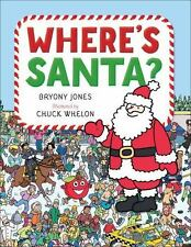 Where's Santa? - LikeNew - Jones, Bryony - Hardcover