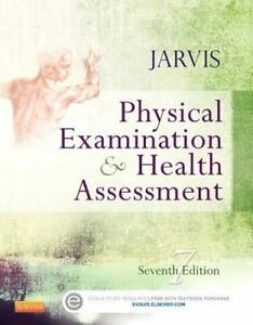 Physical examination and health assessment by carolyn jarvis stock photo fandeluxe Image collections