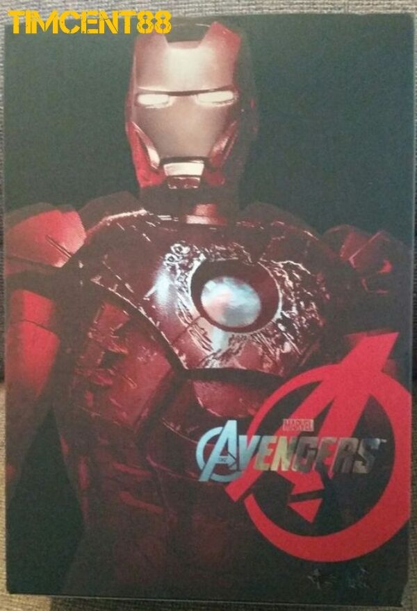 Hot Toys MMS196 Avengers Iron Man Mark VII 7 Battle Damaged Movie Promo