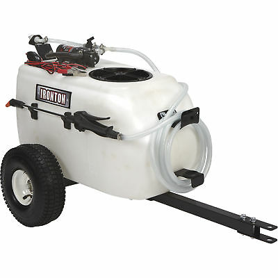 Ironton 13 Gallons 12 Volt DC Tow-Behind Towable Broadcast & Spot Sprayer ATV