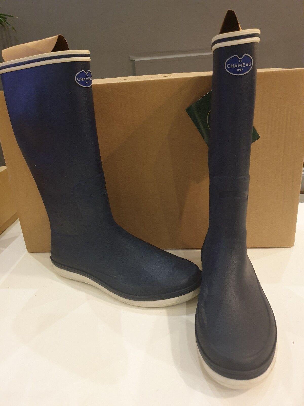 Le Chameau Guerande   Wellington Size 40 bluee