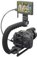 Stabilizing Bracket Pro Grip Camera Handle For Sony Dslr-a200k Dslr-a200