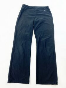 Nike Yoga Pants Women S Xs Black Dri Fit Ebay