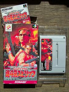 Contra III 3 Spirits Nintendo Super Famicom NTSC Boxed Japan NTSC-J