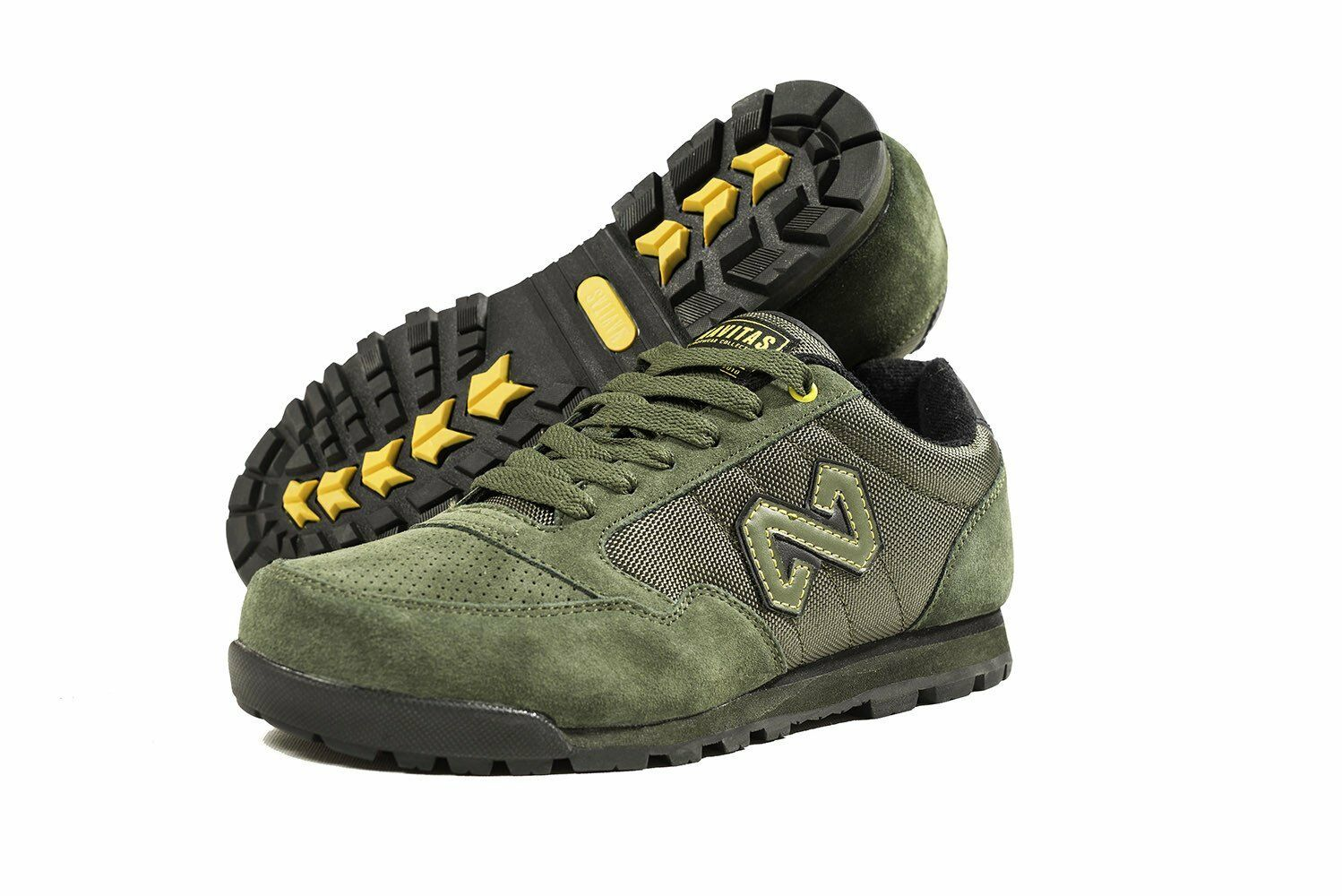 New Navitas Apparel XT1 Green Trainers shoes - All Sizes - Carp Fishing Footwear
