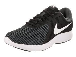 836d34cfd0eb Nike Men s Revolution 4 Running Shoes AA7402 001 Black White ...