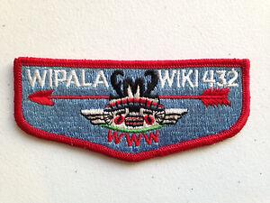 WIPALA-WIKI-OA-LODGE-432-SCOUT-SERVICE-PATCH-FLAP-LIGHT-BLUE-CLOTH