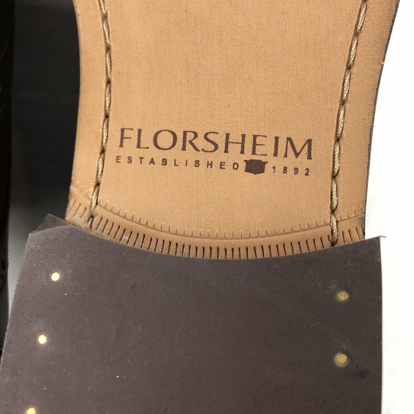 Florsheim Oxford schuheFinley Brogue Wingtip braun US 9 Dress schuheFinley Oxford 11171-201 NEW  100 1acf80