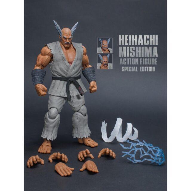 Storm Collectibles Stm87057 Heihachi Mishima Tekken 7 1 12 Action Figure Grey