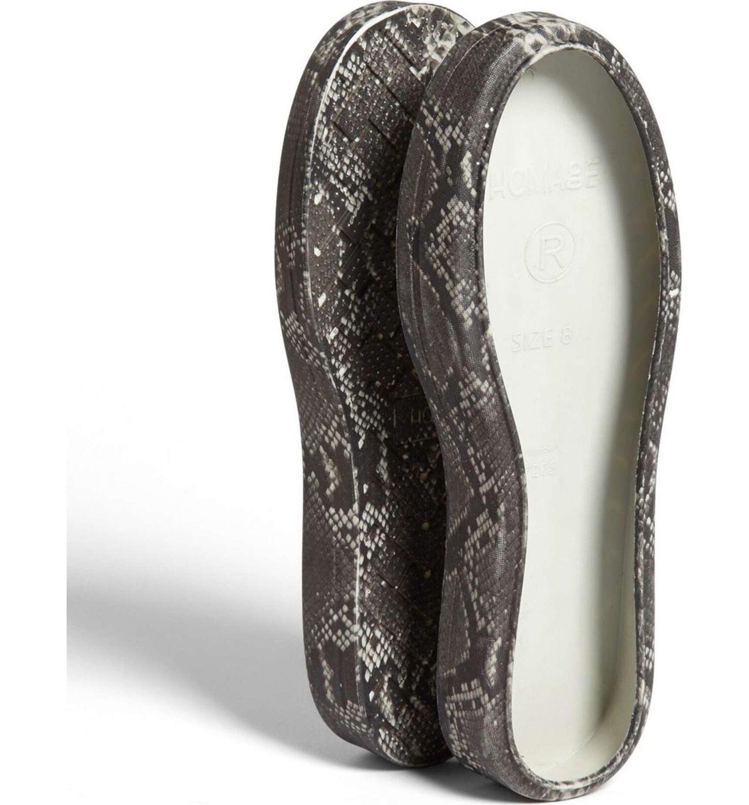 Homage Boot Wrap Snakeskin Print Women's Size 9 M 2144