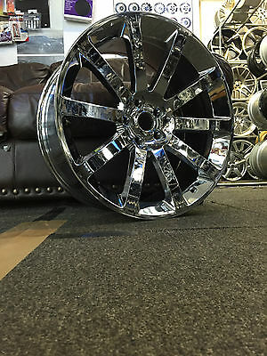 "20"" CHROME PVD ALLOY WHEELS FITS CHRYSLER 300C, DODGE CHARGER,CRD,SRT,"