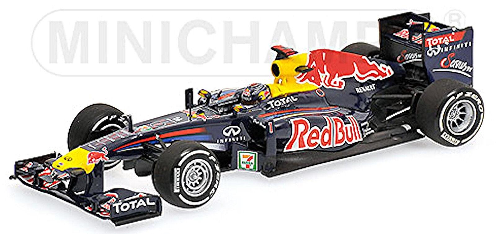 rouge Bull Renault de Course Rb7  1 Vettel Gangant Japon Gp 2011 Champion Du Monde