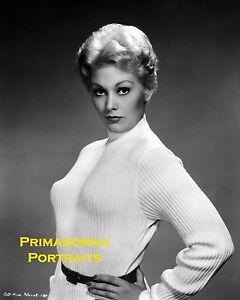 KIM NOVAK 8X10 Lab Photo B&W 1950s SEXY Busty Beauty ...