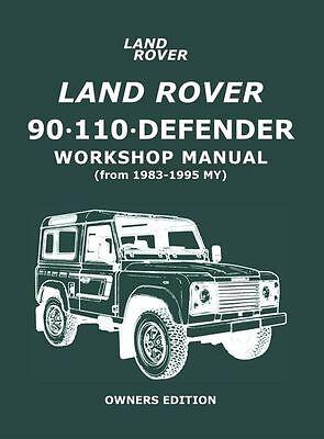 Car & Truck Manuals Service & Repair Manuals 1983-2007 Land Rover ...