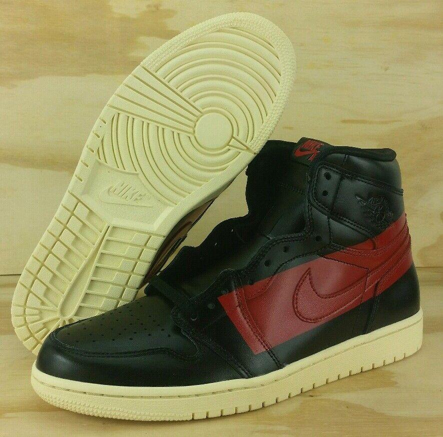 Nike Air Jordan 1 High OG Defiant  Couture  Black Red BQ6682-006 Men's Size 11