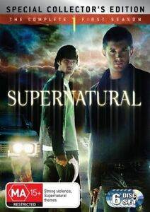 Supernatural-Season-1-Special-Edition-DVD-2007-6-Disc-R4-VGC