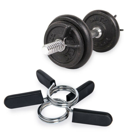 Gym Spinlock Barbell Collar Lock Dumbell Clip Clamp Weight Lifting Body Building