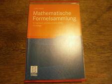 Mathematische Formelsammlung Von Lothar Papula 2013 Taschenbuch Gunstig Kaufen Ebay