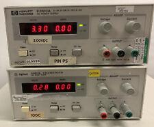 New Listinghp Agilent E3610a Dc Power Supply 0 8v 0 3a0 15v 0 2a
