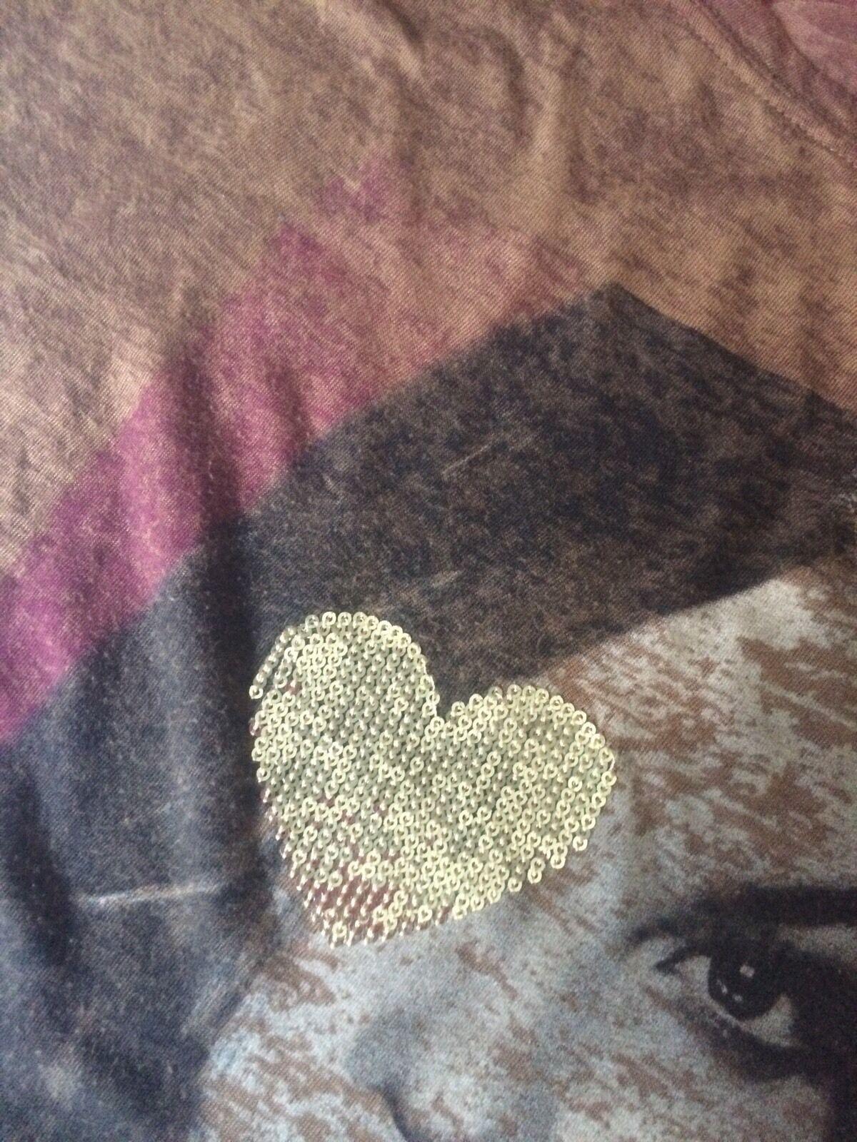 Dept Shirt Top Braun Goldene Pailletten Gr. M M M 38 Conleys Impressionen | Zarte  | Am praktischsten  | Ausgezeichnete Qualität  375c85