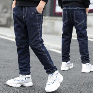 IENENS Boys Jeans Kids Denim Pants Clothing Children Boy Black Long  Trousers | eBay