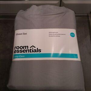 Room-Essentials-Target-Queen-Sheet-Set-Grey