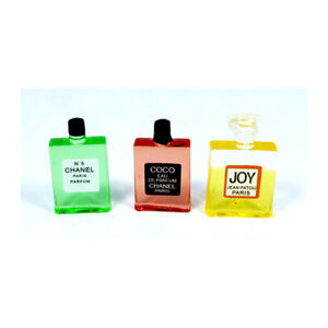 Creal 75133 Parfum Flaschen (3 Stück) 1:12 für Puppenhaus NEU! #