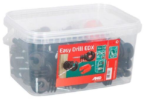 Ringisolator Easy Drill EDX Gewinde durchgehende Stütze Isolator Seil Litze