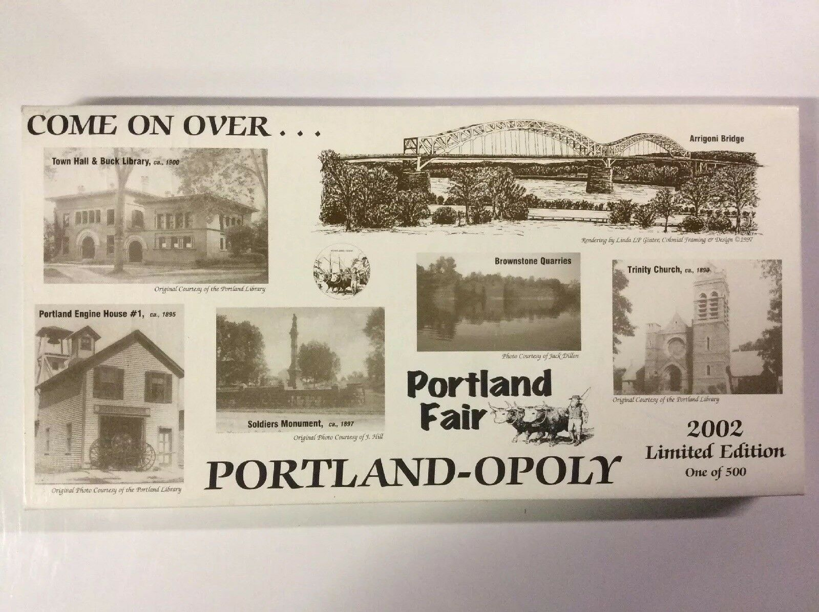 Portland-opoly 2002 Limited Edition Board Game