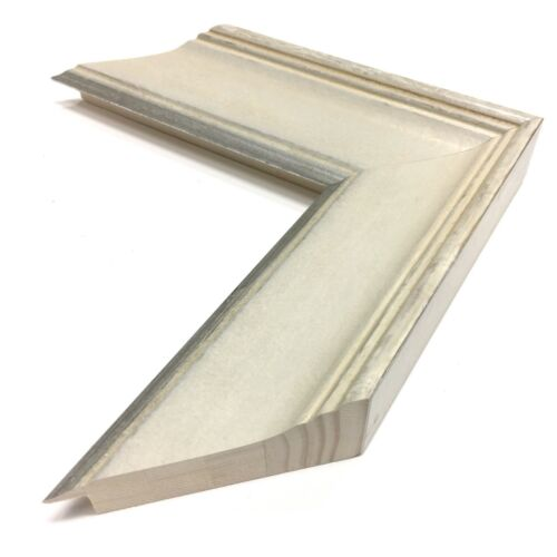 """White Sands 2 3//8/"""" Readymade Wood Picture Frame"""