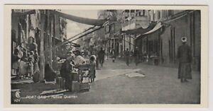 Egypt postcard - Port Said, Native Quarter (A29)