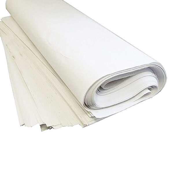 """500x750mm Chip Shop Wrapping 50x White News Offcuts Paper Sheets 20x30/"""""""