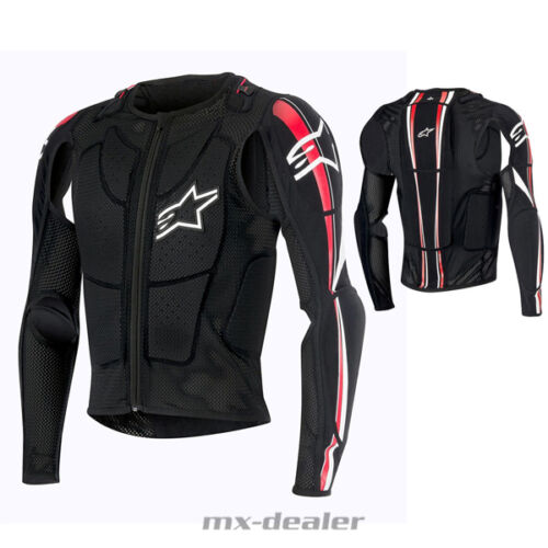 ALPINESTARS BIONIC Plus Safety Giacca Jacket PROTEZIONI BODY PROTECTOR BNS brace