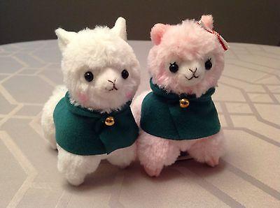 *2 Plushies* Attack on Titan Alpacasso Corps Pink Alpaca Mikasa Gift Christmas