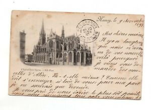 54-cpa-NANCY-La-iglesia-San-Epvre-D2036