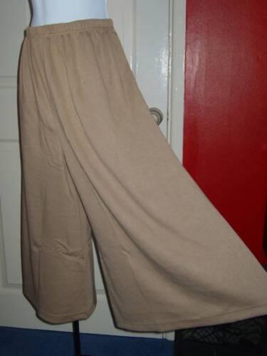 Casual Comfort 34 Ladies Size Plus Culottes Caramel vTwqdwS