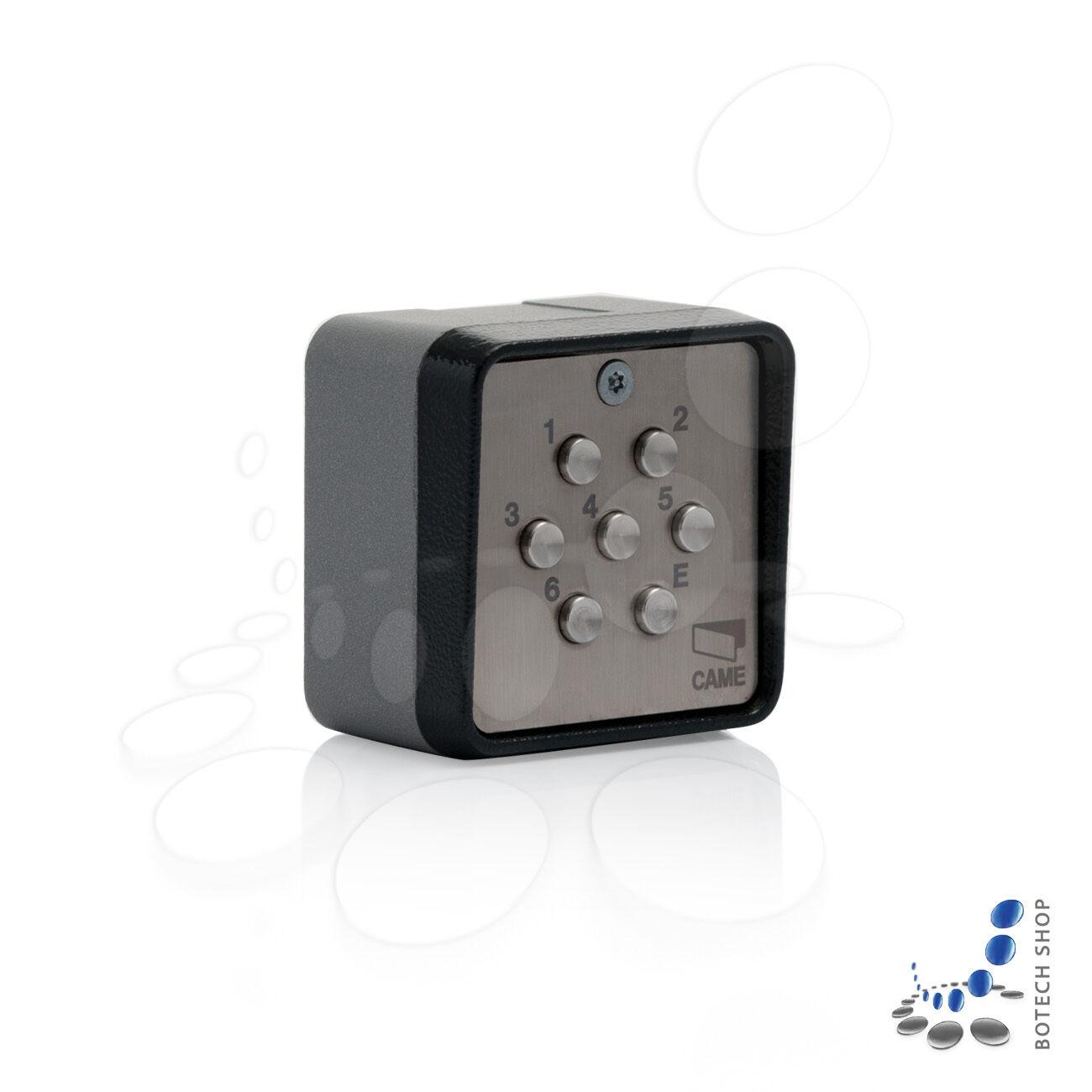 1-Kanal-Codetastatur CAME S7001 für Aufputz-Montage