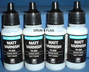 VALLEJO-MATT-VARNISH-Code-70-520-4-x-17ml-bottles-DF38