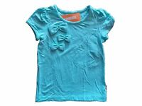 Girl's Gymboree Posh And Playful Blue Short Sleeve Shirt 4 6 7 8 Free Ship