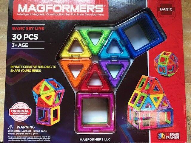 Magformers Rainbow 30 Piece Set NEW