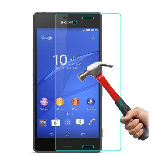 Nuevo 9H Protectora de Vidrio Templado Film Protector de pantalla para Sony Xperia Z3 EE. UU.